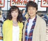 (左から)紫吹淳、岡田浩暉 (C)ORICON NewS inc.