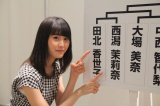 NGT48から唯一の参戦となる西潟茉莉奈(C)AKS