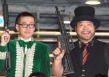 映画『サボタージュ』公開記念イベントに出席した髭男爵(左から)ひぐち君、山田ルイ53世 (C)ORICON NewS inc.