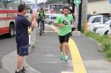 東日本大震災からの復興を願い『RUN FORWARD KANPEI みちのくマラソン2015』に出発した間寛平