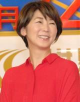 TBS系『世界陸上 2015北京』制作発表会見に出席した中井美穂 (C)ORICON NewS inc.