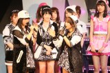 AKB新グループ新潟発NGT48誕生を聞かされ呆然とする高橋みなみ総監督(C)AKS