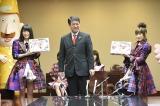 新潟県庁を表敬訪問した高橋みなみ&横山由依 (C)AKS