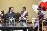 高橋みなみ&横山由依が新潟県庁を表敬訪問 (C)AKS