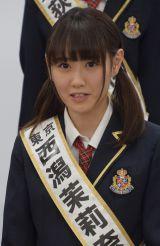 『第2回AKB48グループドラフト会議』で指名を受けた西潟茉莉奈さん (C)ORICON NewS inc.