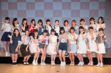 NGT48第1期生オーディション最終審査に合格した22人(C)AKS