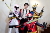 CROSS GENEのSHIN(シン)が憧れのスーパー戦隊シリーズ『手裏剣戦隊ニンニンジャー』にゲスト出演。流ちょうな日本語でクールな俺様キャラを熱演(C)2015 テレビ朝日・東映AG・東映