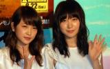 川栄李奈 (左)とAKB48高橋朱里=映画『ムカデ人間3』特別トークイベント (C)ORICON NewS inc.