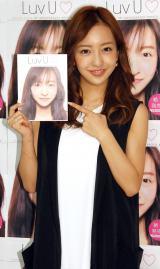 フォトブック『Luv U』の発売記念イベントを開催した板野友美 (C)ORICON NewS inc.