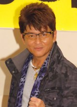 ミュージカルで「全公演でバク宙をしたい」と予告した哀川翔 (C)ORICON NewS inc.