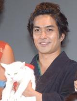 劇場版『猫侍 南の島へ行く』の完成披露イベントに出席した北村一輝 (C)ORICON NewS inc.