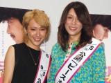 映画『ピースオブケイク』の女性限定記念トークショーに出席した(左から)ゆしん、KABA.ちゃん (C)ORICON NewS inc.