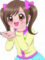 四葉こころ(CV:本渡楓)小学5年生の女の子。物を大切にする優しい子(C)BANDAI/TV TOKYO・ここたま製作委員会
