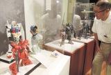 プロモデラーたちの精巧な技術が際立つ作品が並ぶ「京都 模型の匠展」(京都市中京区・京都国際マンガミュージアム)