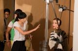 宮沢りえが飾るファストファッションブランド「SENSE OF PLACE by URBAN RESEARCH」の2015年秋冬ビジュアルイメージ撮影風景