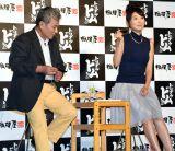 相模屋食料『新型Gとうふ』発表会に出席した(左から)池田秀一、おのののか (C)ORICON NewS inc.