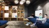 9月末、池袋に開業する外国人向けホステル「BOOK AND BED TOKYO」のイメージ (C)SUPPOSE DESIGN OFFICE