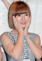 シングル「Oh my wish!/スカッとMy Heart/今すぐ飛び込む勇気」リリースイベントに出席したモーニング娘。'15・生田衣梨奈 (C)ORICON NewS inc.