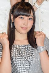 シングル「Oh my wish!/スカッとMy Heart/今すぐ飛び込む勇気」リリースイベントに出席したモーニング娘。'15・譜久村聖 (C)ORICON NewS inc.