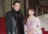 電撃結婚した(左から)山本耕史、堀北真希(写真は5月の舞台共演時) (C)ORICON NewS inc.