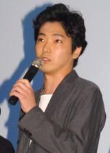 映画『ピースオブケイク』完成披露プレミア上映会に出席した柄本佑 (C)ORICON NewS inc.