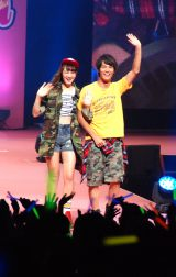 『Seventeen夏の学園祭 2015』に登場した中川大志(右) (C)ORICON NewS inc.