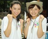 (左から)杉野真実アナ、久野静香アナ (C)ORICON NewS inc.