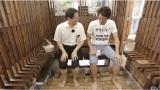 水素研究の第一人者・九州大学の佐々木一成教授と足湯につかりながら水素エネルギーの未来を語り合う
