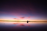ボリビアで「天空の鏡」と呼ばれるウユニ塩湖