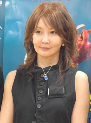 舞台『ねじこみ〜消える命が入る音〜』の制作発表会見に出席したYOU (C)ORICON NewS inc.