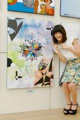 『二科展』に4年連続で入選した乃木坂46の若月佑美