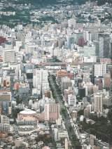 多くのホテルが立地する仙台市中心部。コンサート来場が見込まれる延べ20万人のファンの動向が注目される