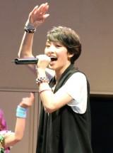 """新曲""""Aダンス""""を披露した剛力彩芽 (C)ORICON NewS inc."""