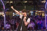 4thシングル「相合傘(あいあいがさ)」の発売記念イベントを行った剛力彩芽