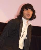 映画『ピースオブケイク』初日舞台あいさつに出席した峯田和伸 (C)ORICON NewS inc.