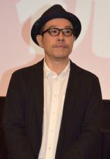 映画『ピースオブケイク』初日舞台あいさつに出席した田口トモロヲ監督 (C)ORICON NewS inc.