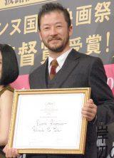 映画『岸辺の旅』日本凱旋披露試写会に出席した浅野忠信 (C)ORICON NewS inc.