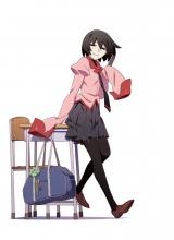 ヒロイン・忍野扇をメインにしたアニメ『終物語』キービジュアル(C)西尾維新/講談社・アニプレックス・シャフト