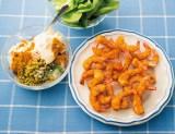 料理研究家である土井善晴氏が監修したマンガで学べるレシピ本『マンガ・お料理再発見!』より「魅惑のタルタルサラダを添えた海老フライ」