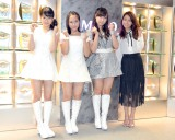 (左から)野中美希、小田さくら、譜久村聖、May J. (C)ORICON NewS inc.
