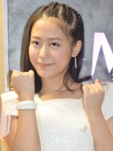 NHKワールドTV『J-MELO』の10周年突入取材会に出席したモーニング娘。'15の小田さくら (C)ORICON NewS inc.