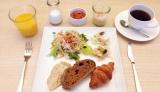 レディースフロアを備えた神戸元町 東急REIホテルで、ビジネスホテルの女性向けサービスについて調査! オプションの朝食メニューはヘルシー&豪華