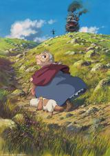 1週目には『ハウルの動く城』が放送される (C)2004 二馬力・GNDDDT