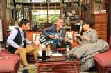 『金曜プレミアム さんまのまんま30周年秋SP』にゲスト出演する黒柳徹子(右)、松山千春(中央) (C)関西テレビ