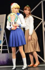 ミュージカル『美少女戦士セーラームーン -Un Nouveau Voyage-』ゲネプロの模様 (C)ORICON NewS inc.