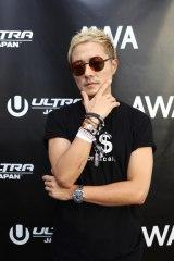『ULTRA JAPAN 2015』に来場したm-floのVERBAL(写真:片山よしお)