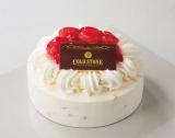 クリスマスの特別なアイスケーキ『ストロベリーショートケーキ』