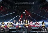 2年連続で出演したNMB48(19日、『イナズマロック フェス 2015』雷神ステージ)