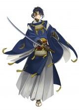 『刀剣乱舞』登場キャラクター・三日月宗近 (c) 2015 DMMゲームズ/Nitroplus