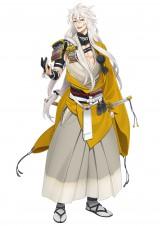 『刀剣乱舞』登場キャラクター・小狐丸 (c) 2015 DMMゲームズ/Nitroplus